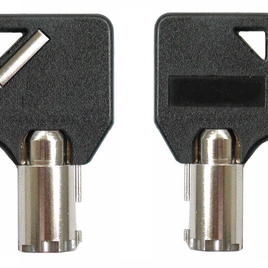 Clé passe Push & Lock Wedge MK pour vos solutions de Sécurité antivol
