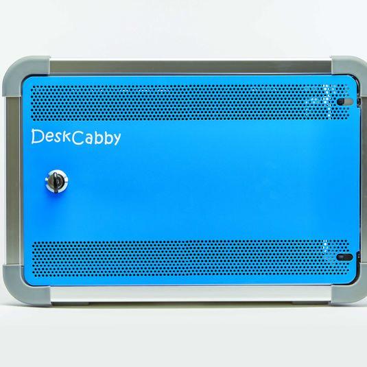 """Coffret de bureau Deskcabby """"Charge Only"""" 12 tablettes pour vos solutions de Stockage et recharge"""