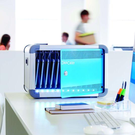 Coffret de bureau Deskcabby Charge & Sync 12 tablettes pour vos solutions de Stockage et recharge