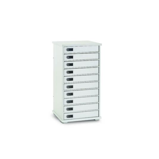 Armoire de rechargement 10 casiers LYTE 10 MD pour vos solutions de Stockage et recharge