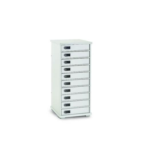 Armoire de rechargement 10 casiers LYTE 10MD Mini pour vos solutions de Stockage et recharge