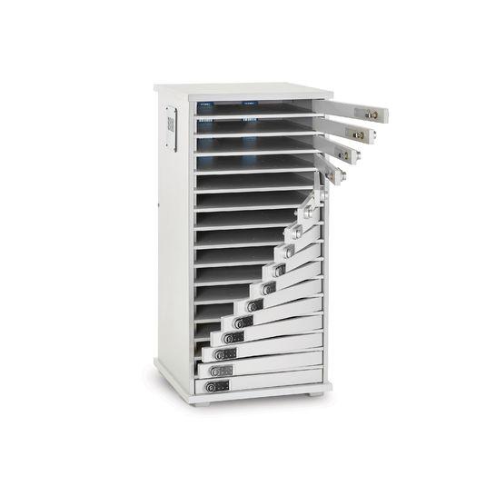 Armoires et coffrets Armoire de rechargement 16 casiers LYTE 16 MD pour vos solutions de Stockage et recharge