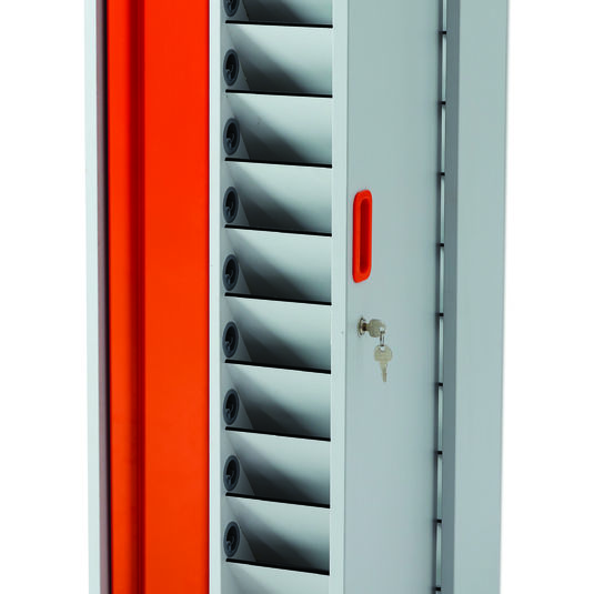 Armoires et coffrets Coffret mural de rechargement Lyte Wall 10 pour vos solutions de Stockage et recharge
