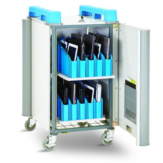 Chariots Classe Mobile Chariot classe mobile LAPCABBY Mini 20V pour vos solutions de Stockage et recharge