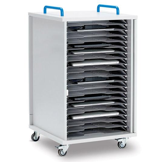 Armoire mobile de rechargement LYTE 20SDMSMB pour vos solutions de Stockage et recharge