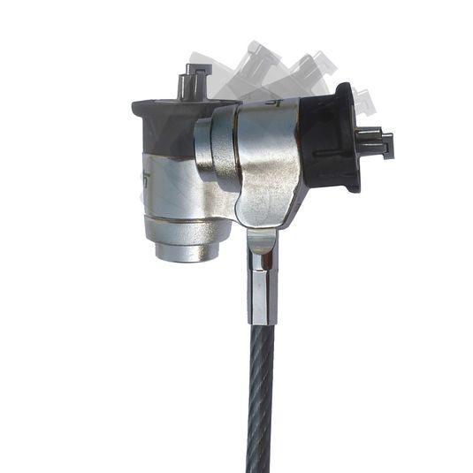 Câble antivol Push & Lock KA pour vos solutions de Sécurité antivol